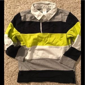 Gymboree Collared Striped Rugby Shirt